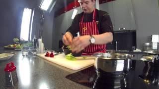 Салат с говядиной от шеф повара Павла Петрова