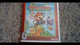 Super Paper Mario (Nintendo Selects) - Unboxing (Read Description)