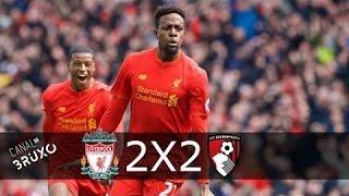 Liverpool vs Bournemouth 2-2 - Goals 05/04/2017 HD