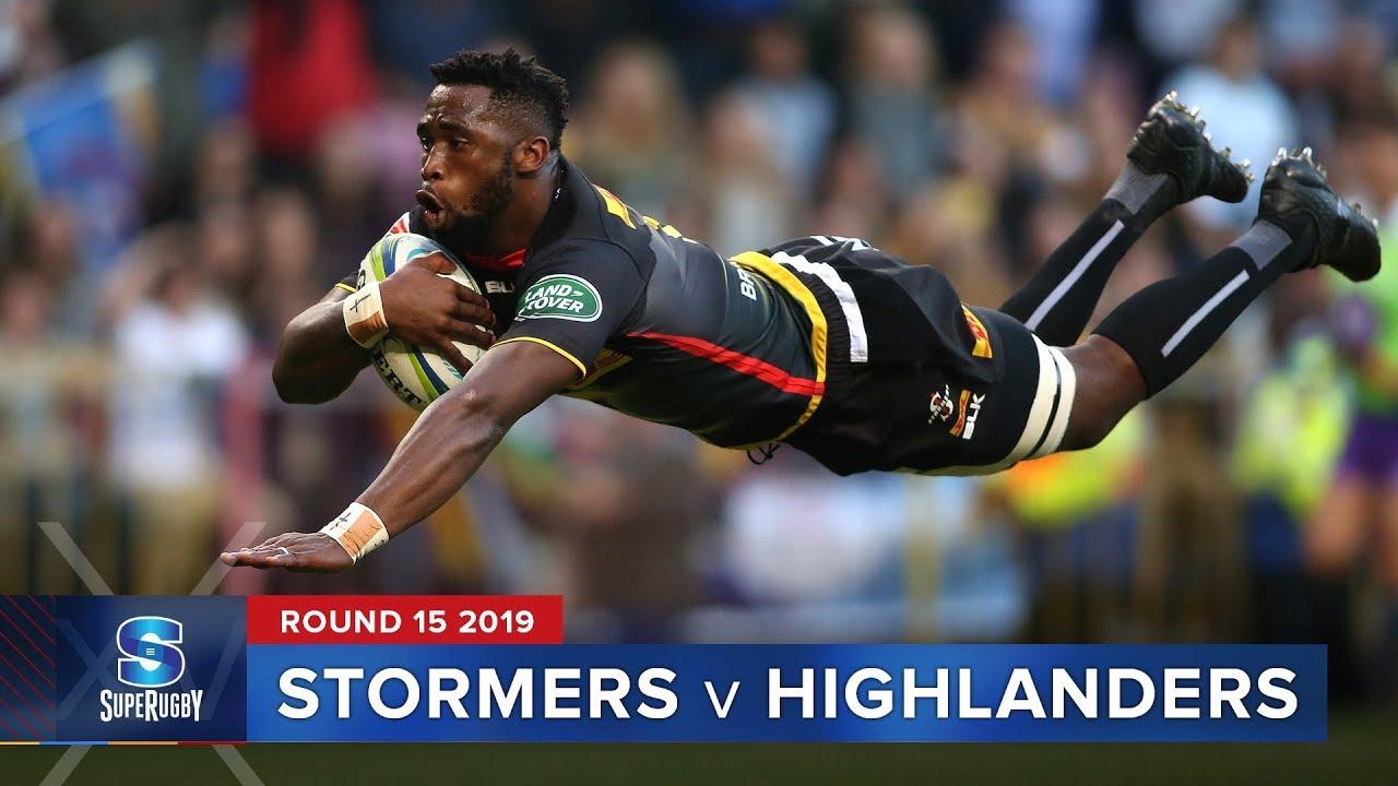 Stormers v Highlanders | Super Rugby 2019 Rd 15 Highlights