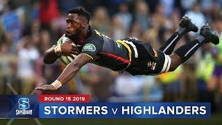 Stormers v Highlanders   Super Rugby 2019 Rd 15 Highlights