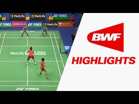 Yonex-Sunrise Hong Kong Open 2017 | Badminton F – Highlights