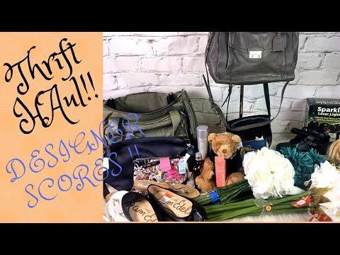Thrift / Garage Sale Haul Designer bags Coach , Kors , Furla