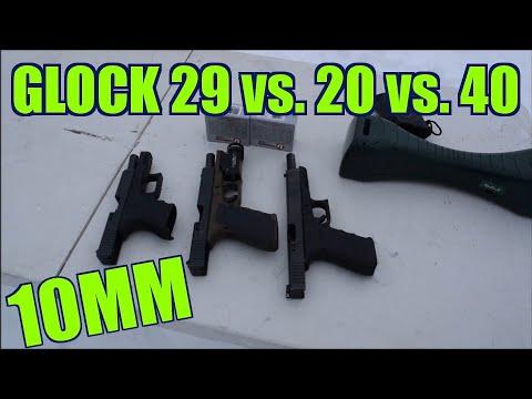 10mm glock 40 vs