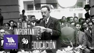 Videoinfografía: ¿Quién fue José Vasconcelos?