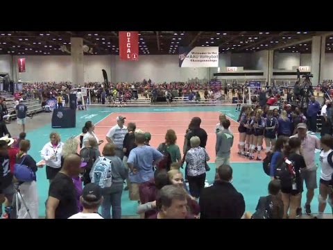 June 25, 2017: Court 41 AAU Volleyball Nationals