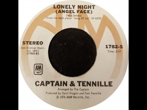 LONELY NIGHT (Angel Face) - The Captain & Tennille  (1976) Mp3
