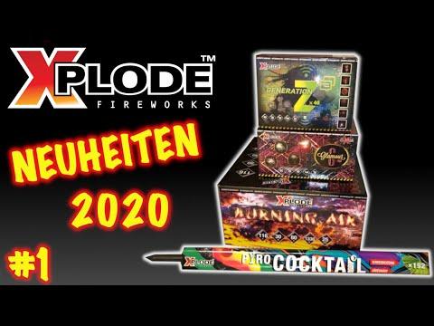 XPLODE FEUERWERK NEUHEITEN