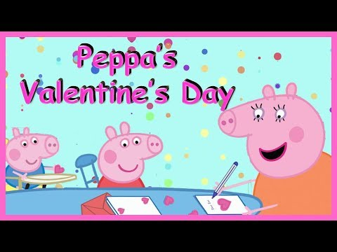 Peppa Pig Read Aloud Books For Kids Peppa S Valentine S Day Learn To Read For Kids