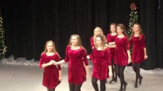 bracken school of irish dance christmas performance 2016