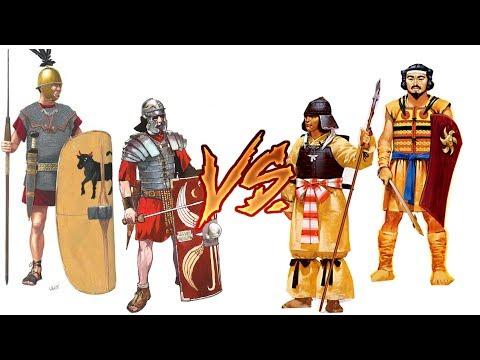 Roman Legions VS Japanese Armies