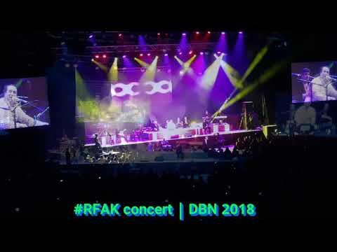 Rahat Fateh Ali Khan Live | Durban 2018 | My experience  and Highlights