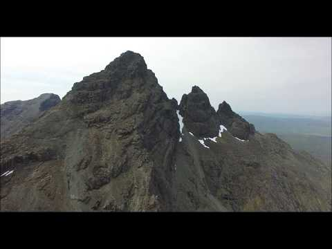 The Black Cuillin, Skye, Scotland by phantom 3 drone