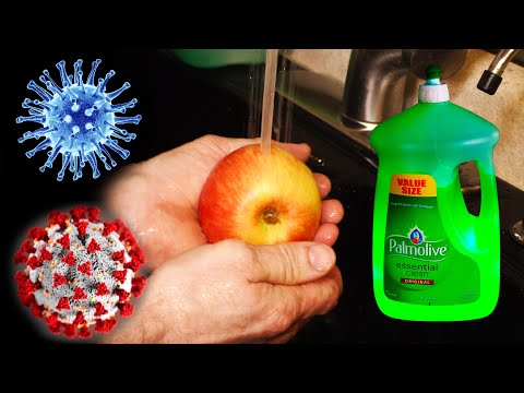 Prevent Virus Spread by Washing Fruits and Vegetables