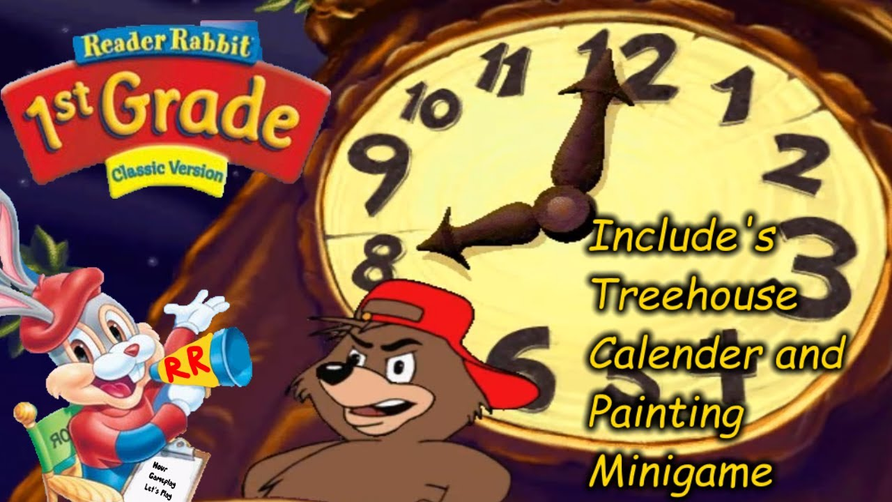 Reader Rabbit Personalized 1st Grade Full Playthrough Includes Treehouse Minigames Youtube Reader rabbit grade online free