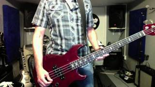 New Order Dream Attack Live @ Montreux Jazz Festival Bass Cover