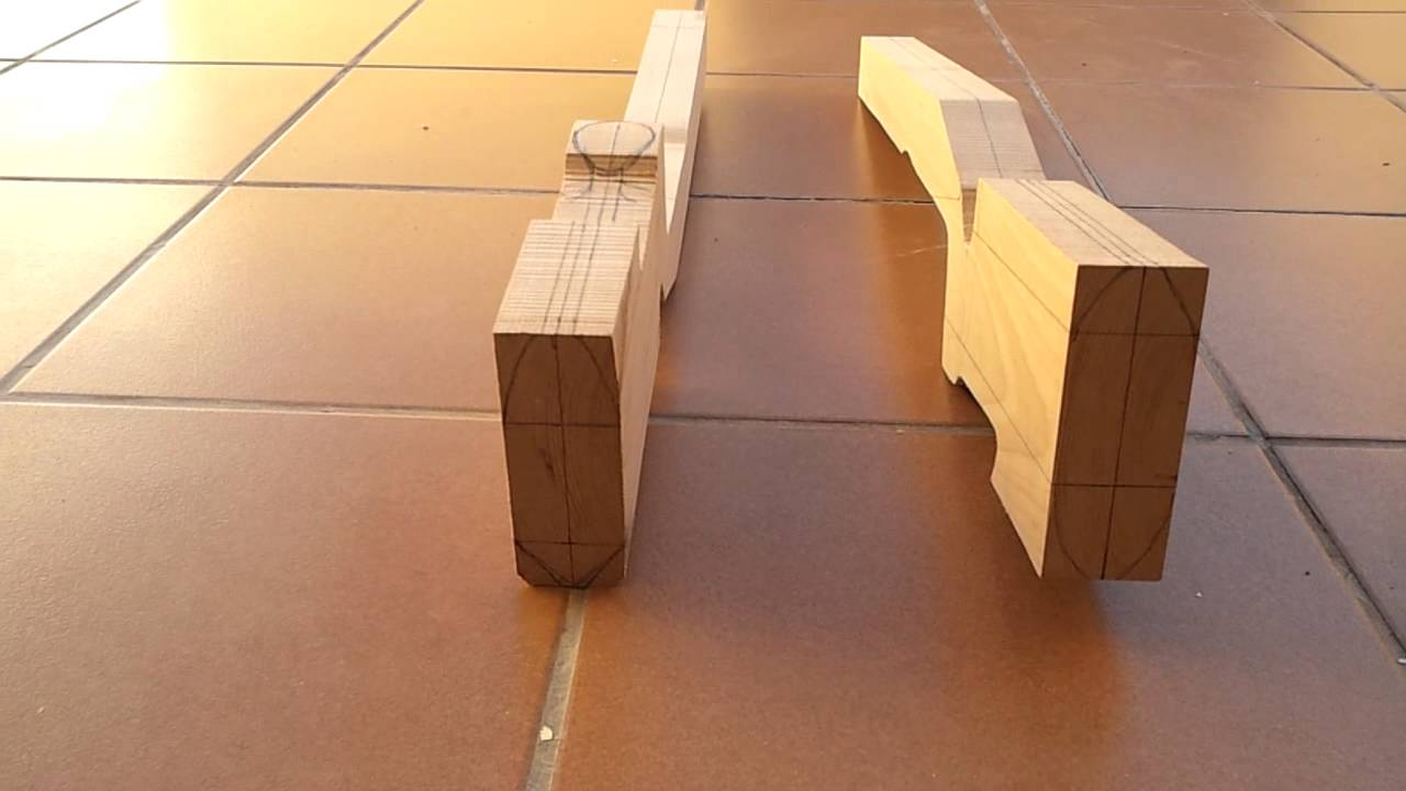 Proyecto1 cuerpos de madera para m40a5 airsoft youtube for Como construir un kiosco en madera