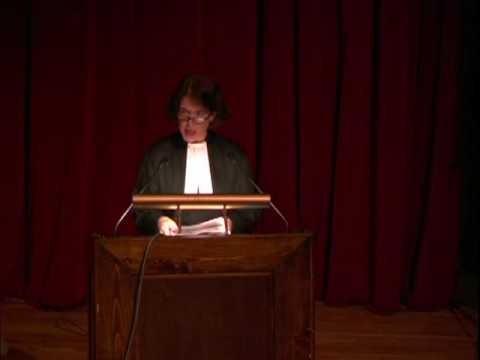 60th University of Chicago Hillel Latke-Hamantash Debate 2006 (Alison Boden Part 1)