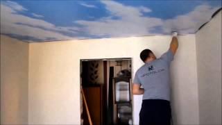 Натяжной потолок  с фотопечатью  от  NPOTOLOK® г. Минск