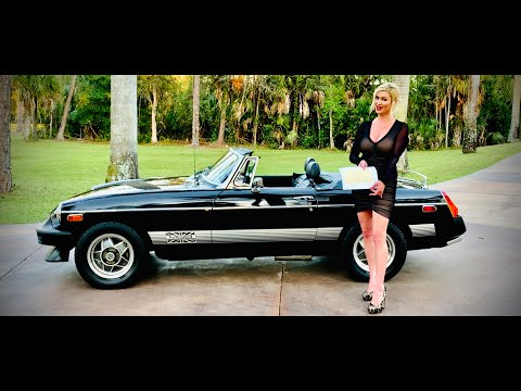6,969 Mile 1979 MGB Convertible Limited Edition & Only One Owner!