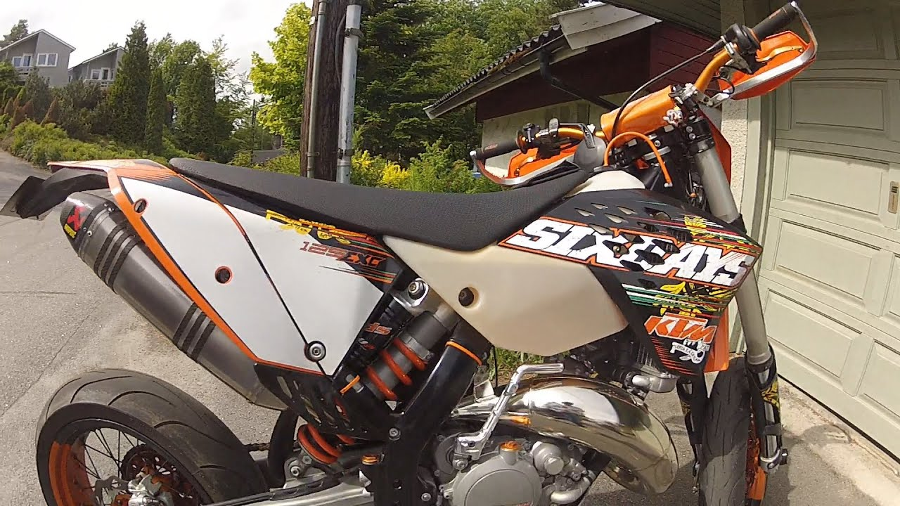 pec - ktm exc 125 sixdays 2010 preview and flyby! - youtube