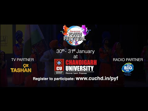 Punjab State Youth Festival At Chandigarh University