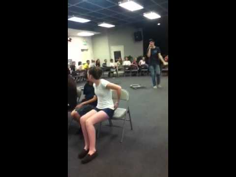 Probably the biggest musical chairs game you've ever witnes