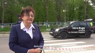 Ziua Europei: Treceri de pietoni cu mesaje despre egalitate de gen din Republica Moldova