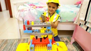 المهندسة لولو تلعب مع أبوها!!