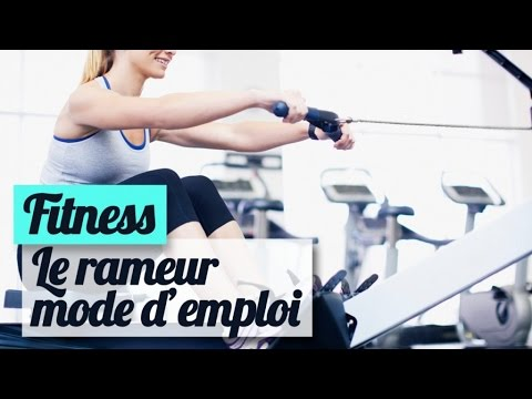 rameur mode d 39 emploi en salle de gym fitness youtube. Black Bedroom Furniture Sets. Home Design Ideas