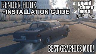 GTA San Andreas - 2018 GRAPHICS MOD | RenderHook + Reshade