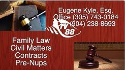 Eugene Kyle, Esq. Lawyer Specializing in Family Law in Marathon, Florida Keys