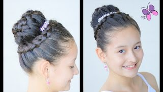 Braided Crown | Elegant Hairstyles | Hairstyles for Girls | Braided Hairstyles | Chikas Chic