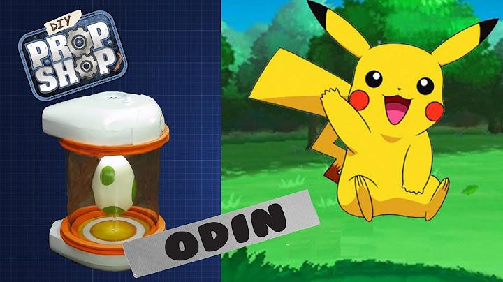 Pokemon Go Egg Incubator - DIY PROP SHOP