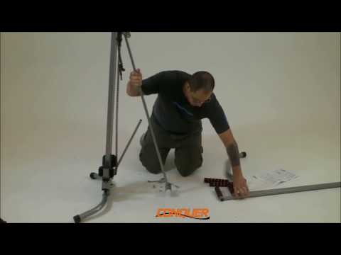 How To Assemble Your Conquer Vertical Climber Fitness Climbing Cardio Machine 3.0