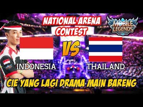 LAGI HOT !!! Warpath Sama Saints Daylen Main Bareng Indonesia vs Thailand National Arena Contest