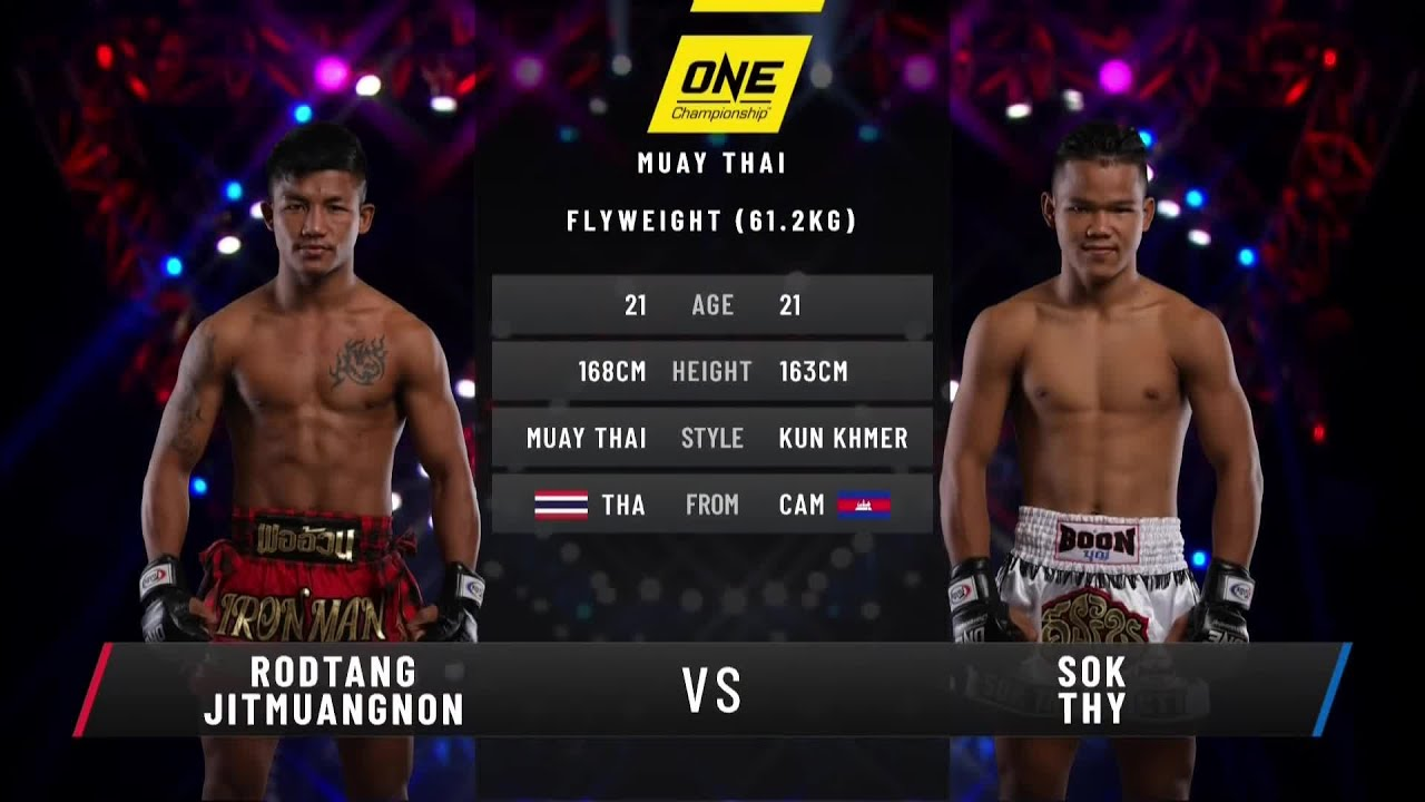 Rodtang vs. Sok Thy | Full Fight Replay