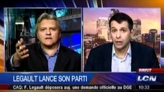 François Legault lance officiellement son parti sous l