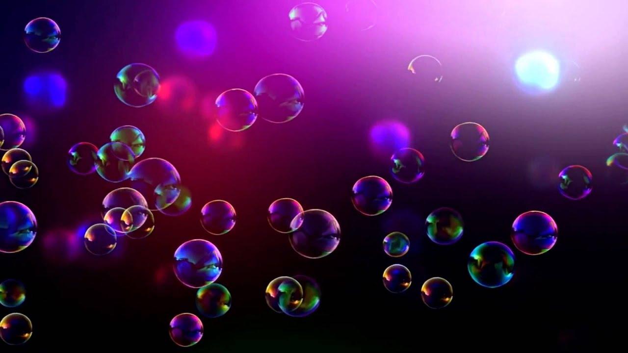 Картинка разноцветных пузырей