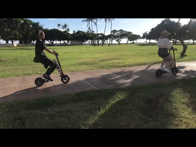 URB-E Hawaii Ala Moana Beach & Magic Island Ride 10/29/19