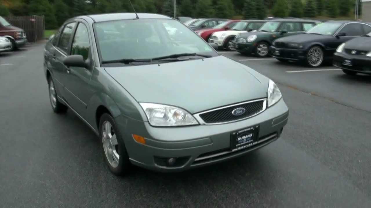 2007 ford focus ses zx4 sedan