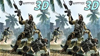 Warface 3D VR video 3D SBS видео для виар очков 1