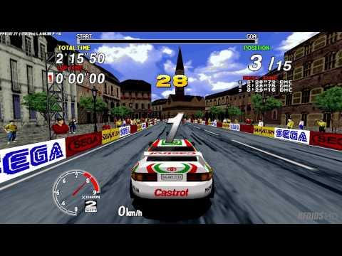 Sega Rally Championship 1995 Arcade : Sega Model 2 Emulator 1.0 (Logitech G25 manual)