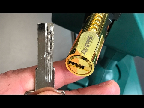 Взлом отмычками    [418] Avers ZM Euro Profile Cylinder Picked and Gutted ()