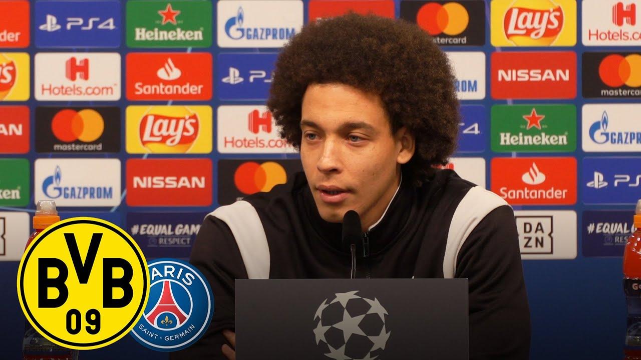 Live: PK mit Axel Witsel & Lucien Favre | BVB - Paris St. Germain | UEFA Champions League