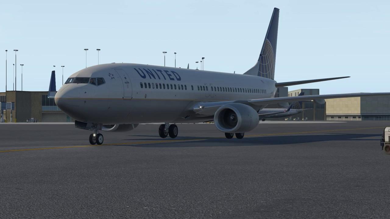 [X-Plane 11] Zibo mod Boeing 737-800 ️ NY Newark to Halifax by crisk73