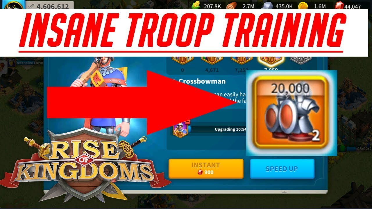 maxresdefault - How To Get Level 2 Troops In Rise Of Kingdoms