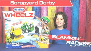 Little Tikes | Slammin' Racers Scrapyard Derby | Toy Review