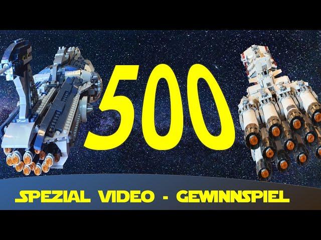 500 Abonnenten Spezial Lego Star Wars Kanal Obi Daniel