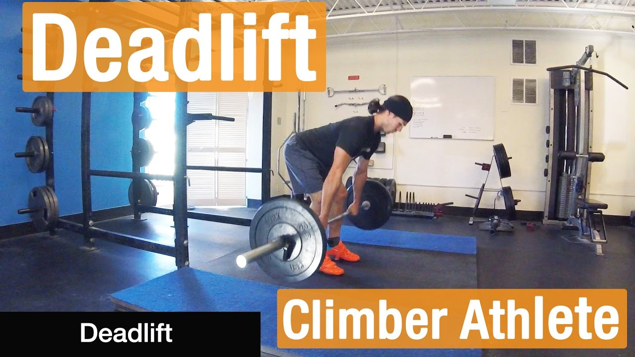 The Climber Athlete: An Argument for Weightlifting